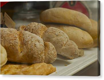 Morning Bread Canvas Print by William  Carson Jr