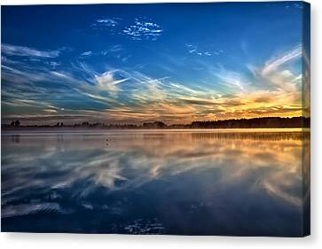 Morning Breeze Canvas Print by Gary Smith