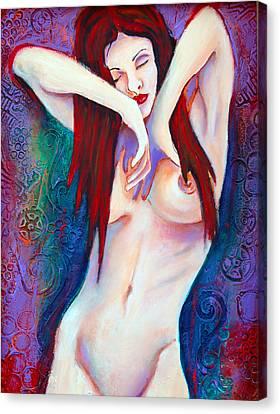 Morning Canvas Print by Claudia Fuenzalida Johns
