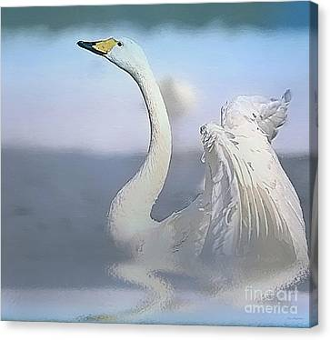 Morning Dance Canvas Print by Jerry L Barrett
