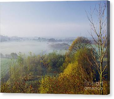 Morning Dust Canvas Print by Heiko Koehrer-Wagner