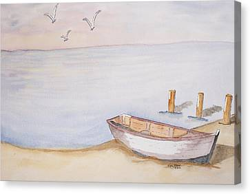 Morning Glory Canvas Print by Eva Ason