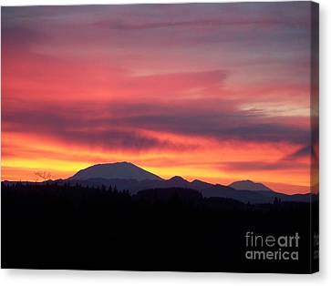 Morning Glow Canvas Print by Chalet Roome-Rigdon