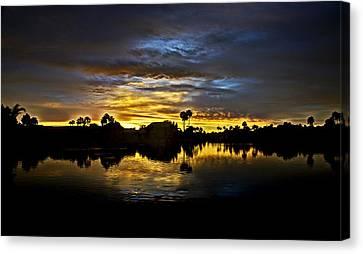 Morning Glow  Canvas Print by Saija  Lehtonen