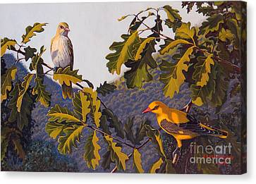 Morning In June Canvas Print