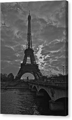 Canvas Print featuring the photograph Morning Light  by Eric Tressler