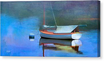 Cape Cod Canvas Print - Morning Mist by Michael Petrizzo