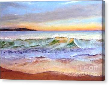 Morning Serenity-phillip Island Canvas Print by Nadine Kelly