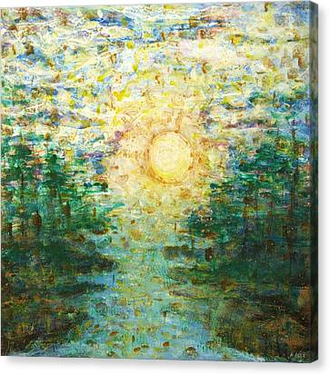 Morning Sun Canvas Print by Andria Alex