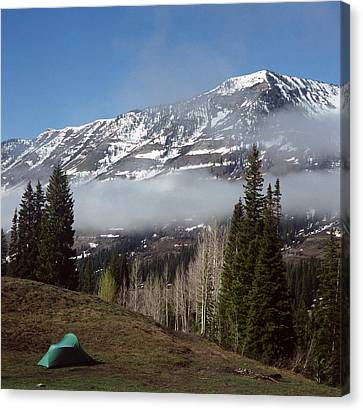 Canvas Print featuring the photograph Morning View by Brian Duram