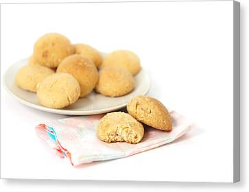 Moroccan Biscuits Canvas Print