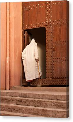 Moroccan Man Canvas Print by Tom Gowanlock