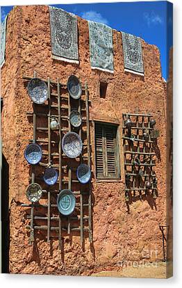 Moroccan Marketplace Canvas Print