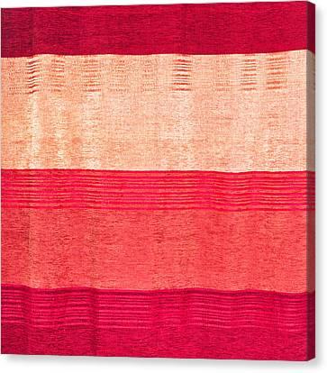 Moroccan Textile Canvas Print by Tom Gowanlock