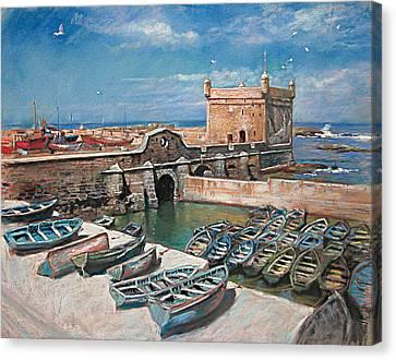 Morocco Canvas Print by Ylli Haruni