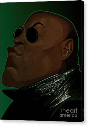 Wachowski Canvas Print - Morpheus by Kevin Greene