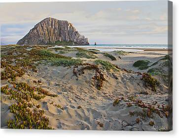 Morro Rock Canvas Print by Heidi Smith