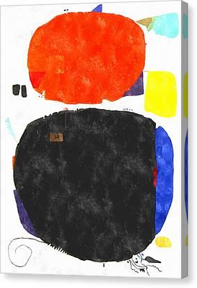 Mortaruru With Red Overhead Canvas Print