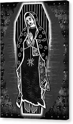 Morticia Guadalupe' Canvas Print by Travis Burns