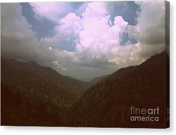 Morton Overlook Tennessee Canvas Print by Ursula Lawrence