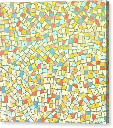 Mosaic Background Canvas Print by Tom Gowanlock
