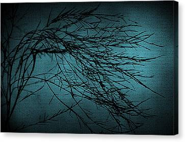 Mosaic Branch Canvas Print by Svetlana Sewell