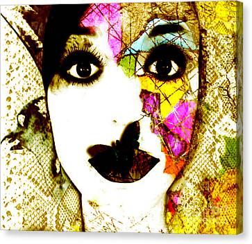 Mosaic Canvas Print by Jenn Bodro