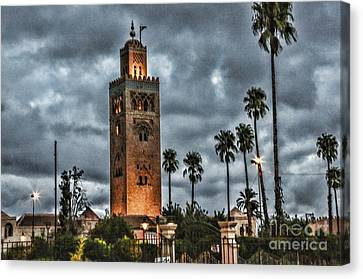 Mosque Marrakesh I Canvas Print