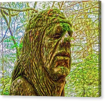 Moss Man Canvas Print by Gregory Dyer
