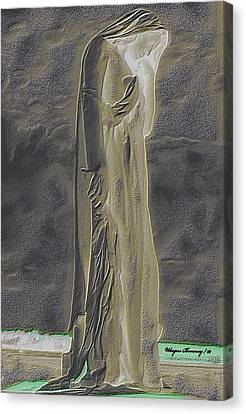 Mother Canada I Canvas Print by Wayne Bonney
