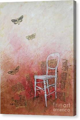 Moths Canvas Print by Paul OBrien