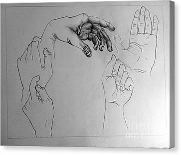 Motion Canvas Print by Jeffrey Kyker