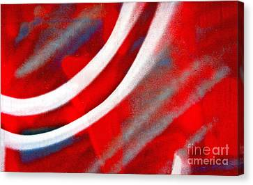Canvas Print featuring the photograph Motion by Joan McArthur