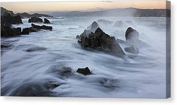 Motion Ocean Canvas Print