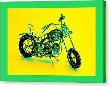 Motorbike 1b Canvas Print by Mauro Celotti