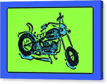Motorbike 1c Canvas Print by Mauro Celotti