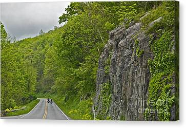 Motorcycle Ride - 1039 Canvas Print by Chuck Smith