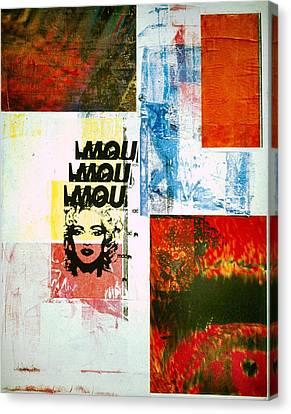 MOU Canvas Print by David Deak