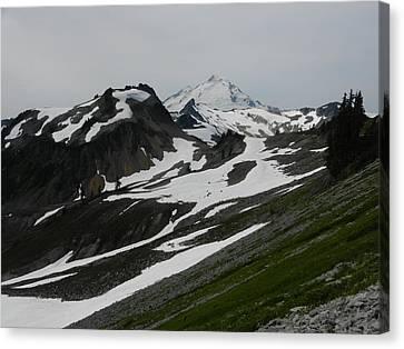 Canvas Print featuring the photograph Mount Baker by Karen Molenaar Terrell