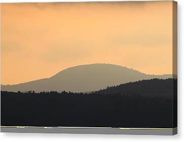Mount Grace Warwick Ma Canvas Print by John Burk