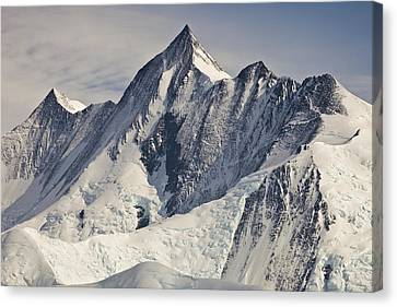 Mount Herschel Above Cape Hallett Canvas Print by Colin Monteath