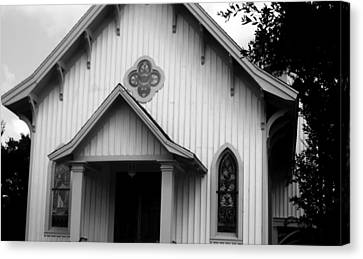 Mount Olivet Church Canvas Print by Louis Nugent