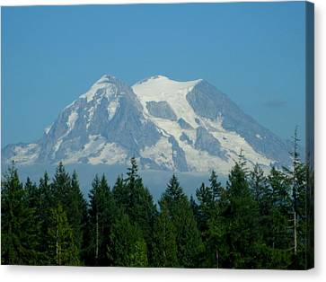 Mount Rainier 5 Canvas Print