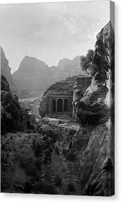 1920s Candid Canvas Print - Mount Sinai, Trans-jordan. Petra by Everett