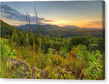 Mountain Evening Canvas Print