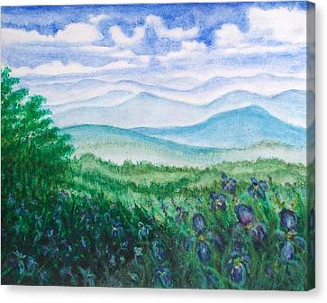Mountain Glory Canvas Print by Jeanette Stewart