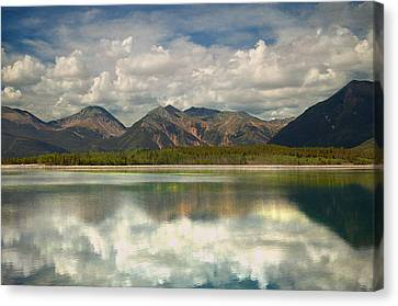 Mountain Lake Canvas Print by Tim Reaves