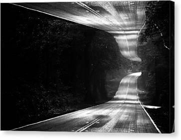 Mountain Road Dream Canvas Print by Matt Hanson