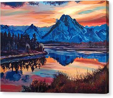 Mountain Serenade Canvas Print