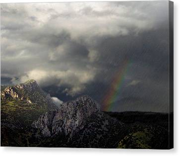 Mountain Storm Canvas Print